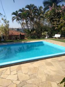 The swimming pool at or near Jacarezinho Palace Hotel