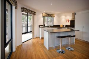 A kitchen or kitchenette at Margaret River Hideaway & Farmstay