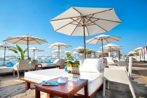 A restaurant or other place to eat at Playa Miguel Beach Club