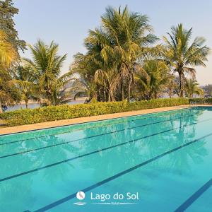 The swimming pool at or near Hotel Lago do Sol