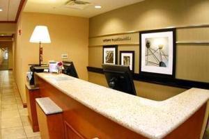 The lobby or reception area at Hampton Inn Jacksonville