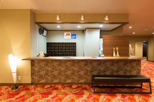 The lobby or reception area at Masuya Ryokan
