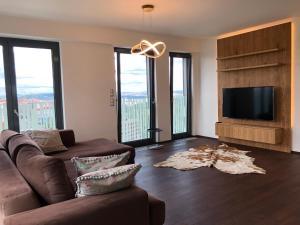 Гостиная зона в CE Apartment Castle View