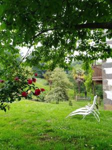 Jardín al aire libre en Caserio Marako Borda