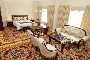 Coin salon dans l'établissement Seastars Hotel Hai Phong