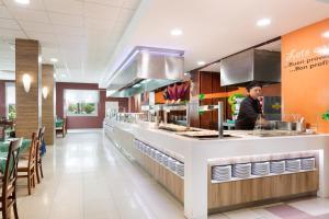 De lobby of receptie bij Hotel Best Siroco