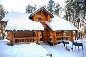 Парк Отель Архангельская Слобода зимой