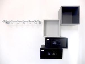 Een TV en/of entertainmentcenter bij Hostel 47
