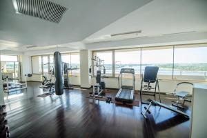The fitness center and/or fitness facilities at Hotel Esplanada