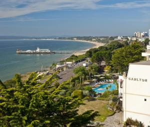 A bird's-eye view of Bournemouth Carlton Hotel, BW Signature Collection