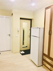 A bathroom at Апартаменты у Академии МЧС