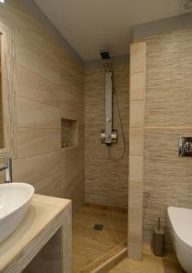 Łazienka w obiekcie Villa Anesis