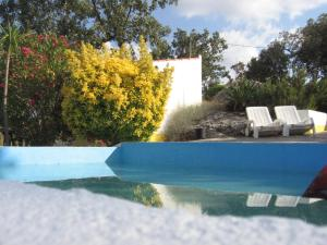 The swimming pool at or near Monte das Fragas