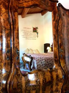 Letto o letti in una camera di Sas Benas