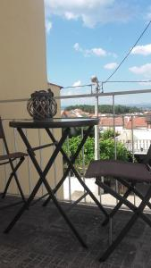 A balcony or terrace at My City House