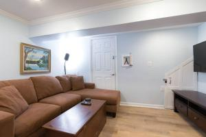 A seating area at Fun DC apartment w/ parking designed just for you!