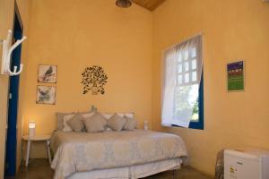Cama o camas de una habitación en Villa dos Pireneus