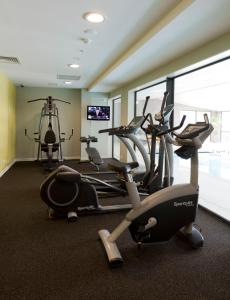 The fitness center and/or fitness facilities at Sudima Auckland Airport