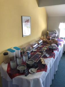 Frühstücksoptionen für Gäste der Unterkunft Zur Wildgans
