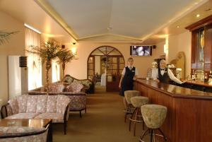 Лобби или стойка регистрации в Sakhalin Sapporo Hotel