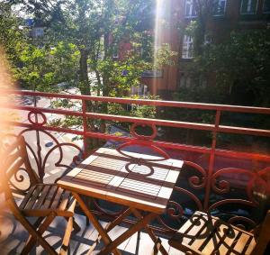 Balkon lub taras w obiekcie Baltic Apartments-Willa Carmen 13