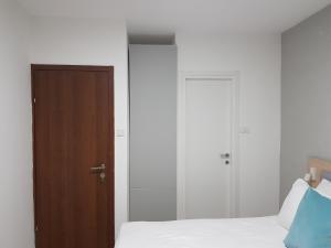 Letto o letti in una camera di Guest House The Erez