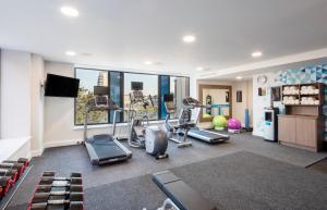 Salle ou équipements de sports de l'établissement Hampton By Hilton Belfast City Centre