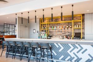Salon ou bar de l'établissement Hampton By Hilton Belfast City Centre