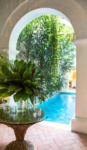 The swimming pool at or near Hotel Casa Don Sancho By Mustique