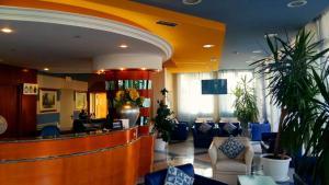 Vstupní hala nebo recepce v ubytování Hotel Bellevue