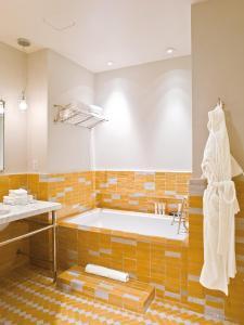 A bathroom at The Greenwich Hotel