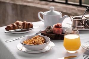 Options de petit-déjeuner proposées aux clients de l'établissement The Xara Palace Relais & Chateaux