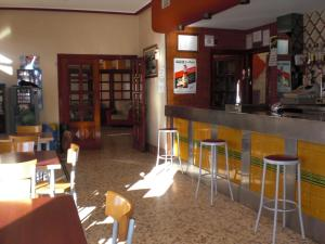 El salón o zona de bar de Hotel Balfagón