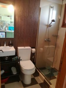 Ένα μπάνιο στο Kallisti Seaside Studios Skopelos