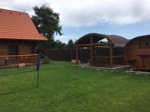 Children's play area at Chata Eden
