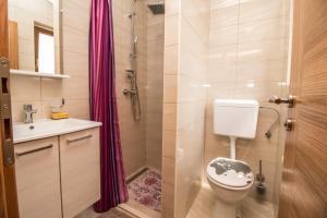 A bathroom at Nice place