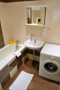 Ванная комната в Pension Prague City
