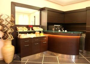 Ванная комната в Hotel Garda