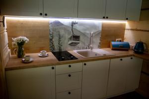 Łazienka w obiekcie Domek u MAni