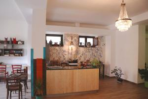 A kitchen or kitchenette at Circus Open Space close to Amalfi coast