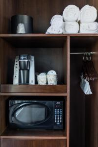 A kitchen or kitchenette at The Fin Hotel, Tapestry Collection by Hilton