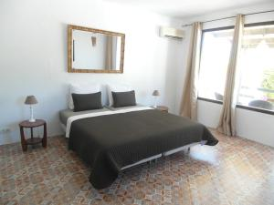 Cama o camas de una habitación en Casa el Chorro