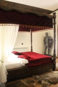 Кровать или кровати в номере Бутик-отель «Променадъ»