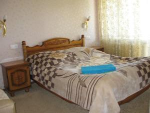 Кровать или кровати в номере Санаторий Рассветы над Бией