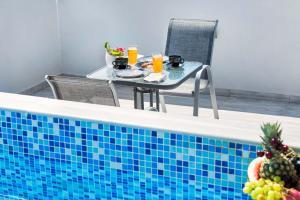 Πισίνα στο ή κοντά στο Nymphes Deluxe Accommodation