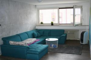 A seating area at Central Apartment Nürnberg