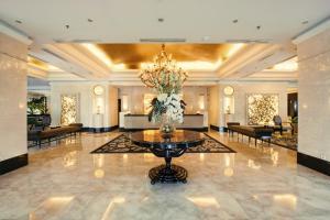 El vestíbulo o zona de recepción de The Papandayan