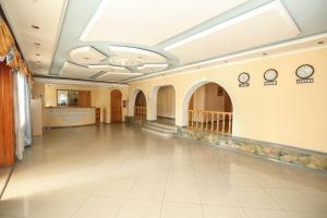 O saguão ou recepção de Zaqatala Hotel