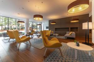 A seating area at Hotel Park Plava Laguna