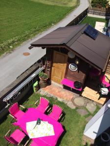 Ein Restaurant oder anderes Speiselokal in der Unterkunft Waldhaus Lechner